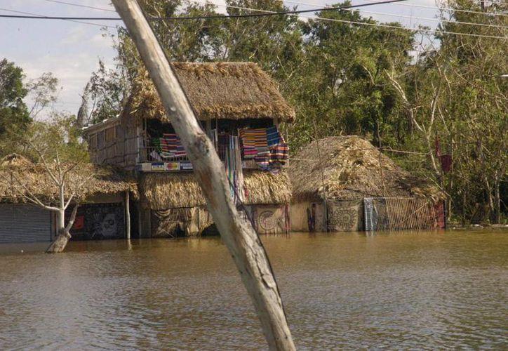 La comunidad de Coba carece de servicios como drenaje. (Rossy López/SIPSE)