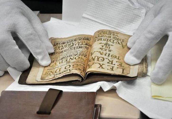 Los escritos del siglo XVI fueron recuperados en Estados Unidos. (nssoaxaca.com)