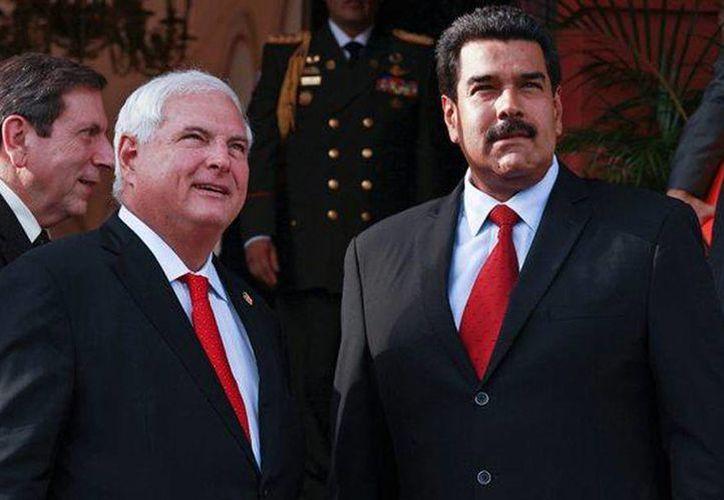 """""""No es una persona madura, es inmadura, quien se expresa así de un país hermano"""" dijo el presidente de Panamá, Ricardo Martinelli, acerca de su colega venezolano Nicolás Maduro. (Agencias/Archivo)"""