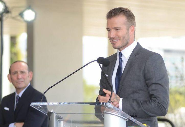 El exfutbolista inglés David Beckham quiere levantar un equipo de futbol en Miami así como un estadio, pero se enfrenta a muchos problemas. (EFE/Archivo)