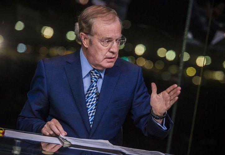 El controvertido periodista se ha visto envuelto en algunos escándalos como el de ayer en el que en un enlace desde Rusia. (Foto: Contexto/Internet)