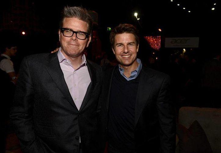 Christopher McQuarrie y Tom Cruise harán mancuerna en Misión Imposible 5. (Archivo/zimbio.com)