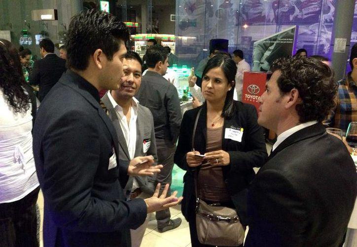 """La """"Networking Night"""", es una oportunidad para hacer negocios en otros lugares del país o incluso del mundo. (Milenio Novedades)"""