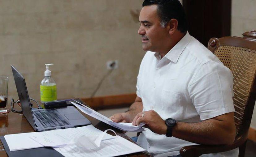 El Alcalde señaló que su prioridad es mantener finanzas públicas sanas. (Novedades Yucatán)