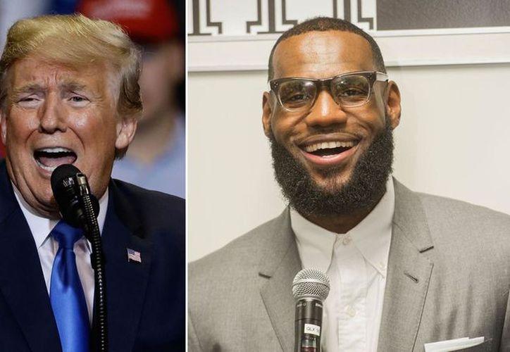 El presidente de Estados Unidos, Donald Trump, insultó al basquetbolista James LeBron en Twitter. (abc7ny.com)