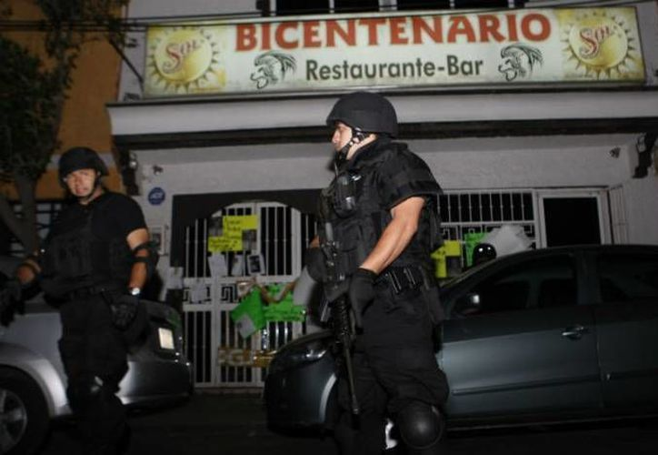 El despliegue policial tuvo lugar en la Zona Rosa. (Archivo/Notimex)