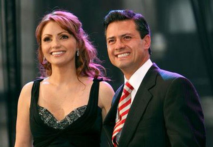 Peña Nieto se casó hace dos años con la actriz Angélica Rivera. (expresionmx.com)