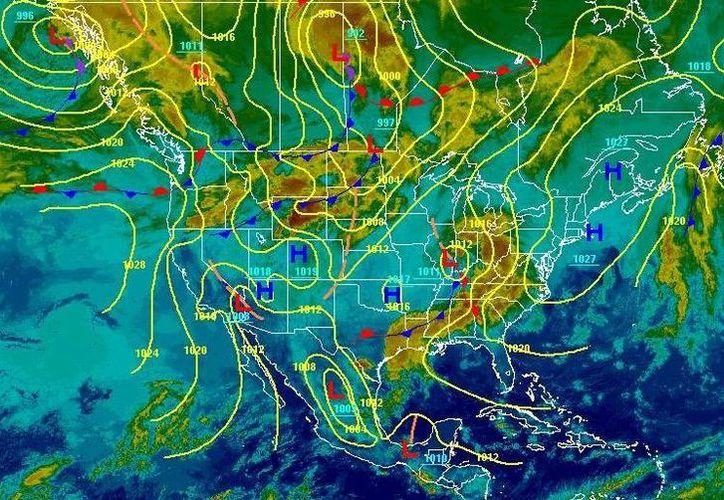 Existe una probabilidad del 25 por ciento de que se presenten lluvias. (Redacción/SIPSE)