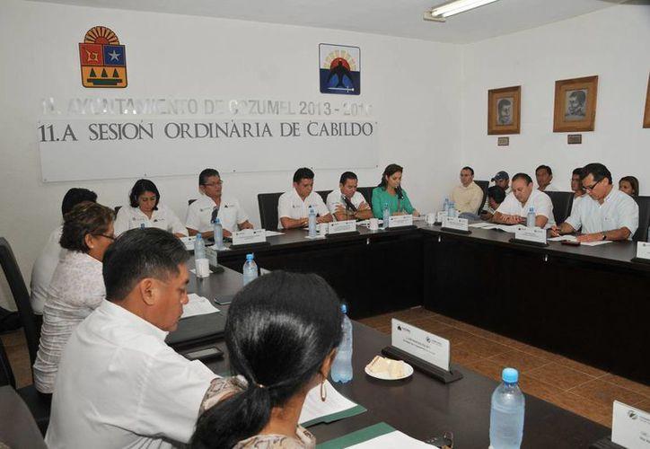 Realizaron la decimoprimera Sesión Ordinaria de Cabildo. (Cortesía/SIPSE)
