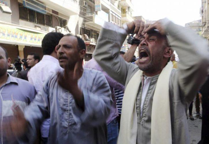 En abril pasado, Egipto condenó a muerte a 720 seguidores de la Hermandad Musulmana de manera provisional. (Archivo/EFE)