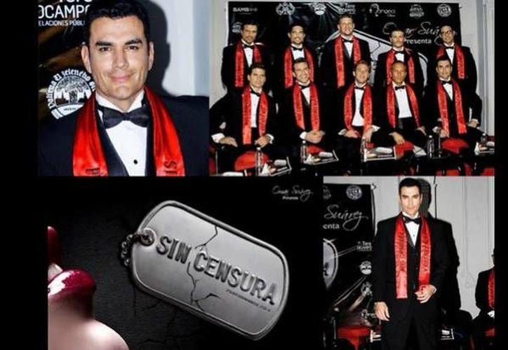 Parte del elenco del espectáculo Sin Censura que se presentará en Mérida el 29 de noviembre. (SIPSE)