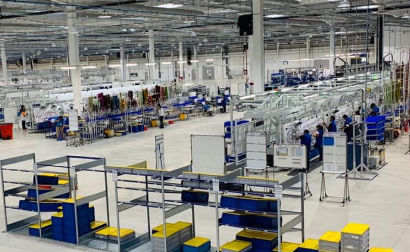 La empresa Leoni inició operaciones en Yucatán en 2017 con la apertura de la planta 1, donde se fabrican arneses automotrices. (Foto: Facebook/Leoni)