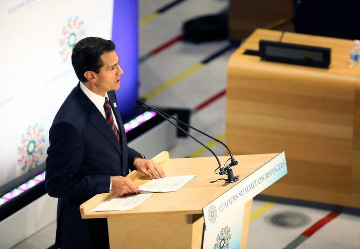 Peña Nieto segura que su gobierno seguirá avanzando en la ruta de la armonía y el orden. (Presidencia)