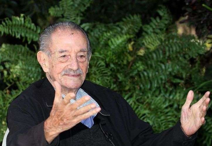 El actor Mario Almada recibirá el galardón de diamante por su larga trayectoria, actualmente cuenta con 94 años de edad. (Notimex)