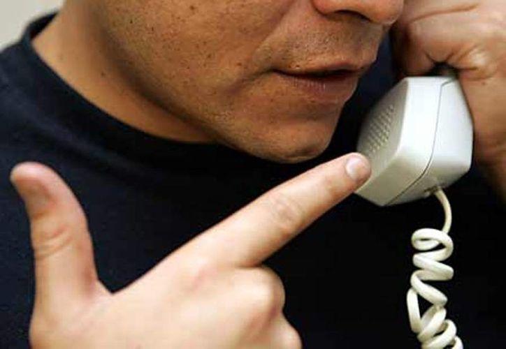 Al mes de octubre del presente año sumaban ya 414 las llamadas de extorsión reportadas a los números de emergencia en Othón P. Blanco. (Ernesto Neveu/SIPSE)