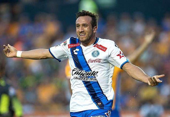 Con gol de Jerónimo Amione (foto), el Puebla de Cardozo consiguió su pase a los octavos de la Copa MX Clausura 2017.(Foto tomada de Mediotiempo)
