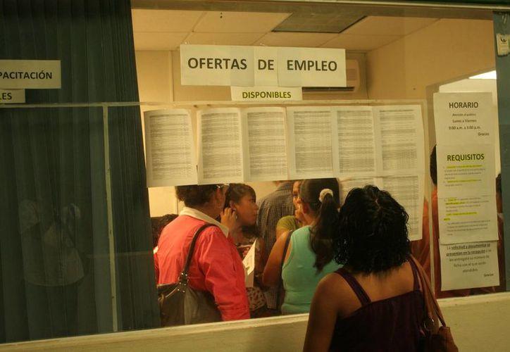 Más de la mitad de los empleos creados en abril fueron bajo el esquema de trabajadores remunerados. (Israel Leal/SIPSE)