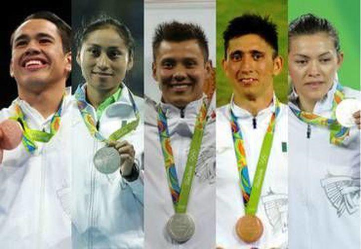 Hasta por ganar medallas olímpicas hay que pagar impuestos. (Foto especial tomada de informador.com.mx)