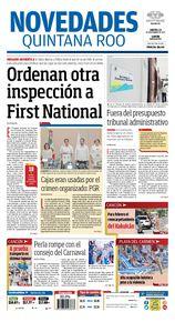 Ordenan otra inspección a First National