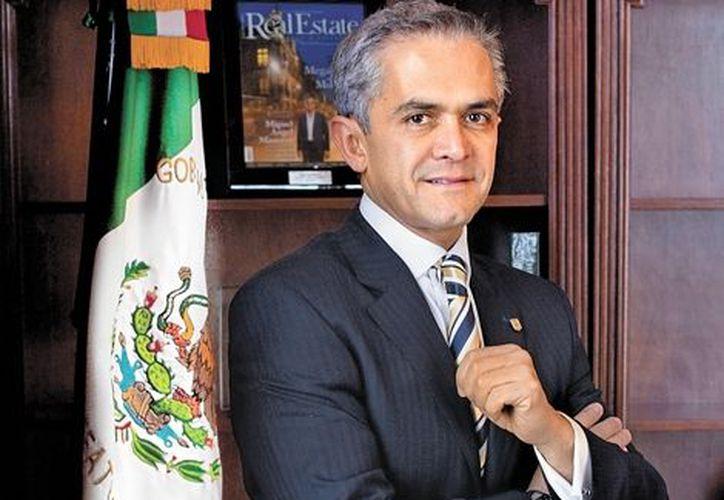 La estrategia de seguridad para la capital coincide con la planteada por la Federación, detalla Mancera. (Milenio)