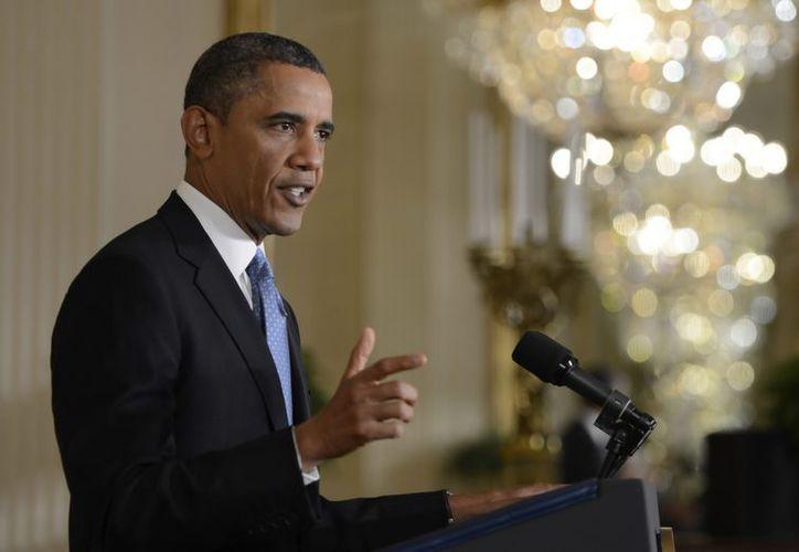 Es previsible que Obama tenga que emplear buena parte de su capital político para sacar adelante su plan. (EFE)