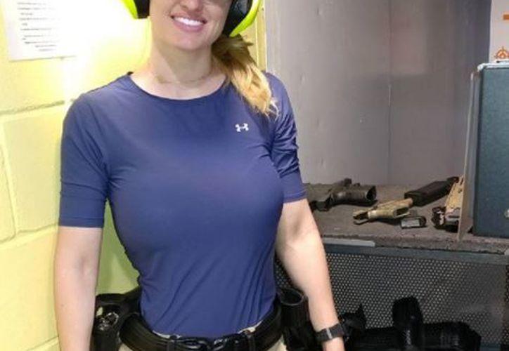La policía Haley Drew revolucionó las redes sociales por su aspecto. (Foto: Instagram)