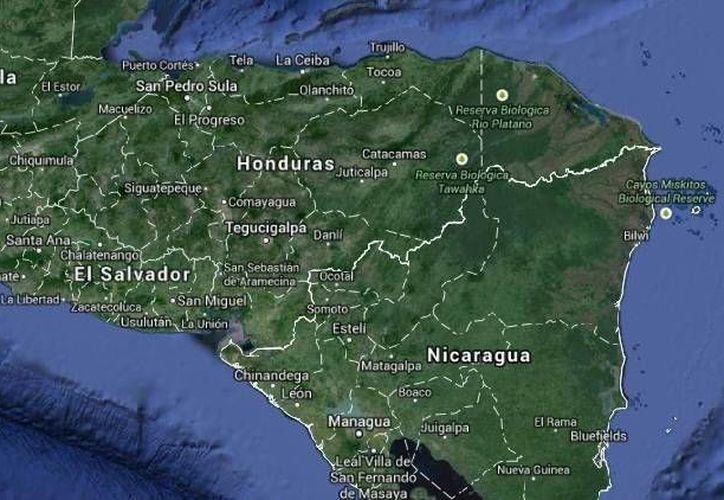 Tras el derrumbe en una mina del norte de Nicaragua, Marta Lagos, secretaria del gobernante Frente Sandinista de Liberación Nacional, aseguró que hay sobrevivientes. (Google Maps)