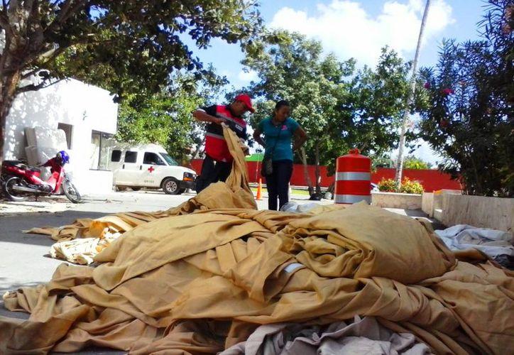 La Cruz Roja Playa del Carmen instalará su bazar nuevamente este sábado y el próximo 6 de diciembre. (Daniel Pacheco/SIPSE)