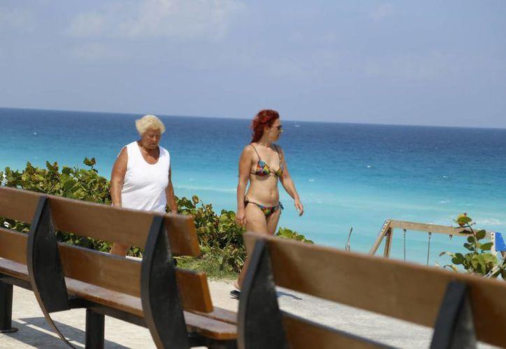 La llegada de más visitantes se refleja en los ingresos. (Israel Leal/SIPSE)
