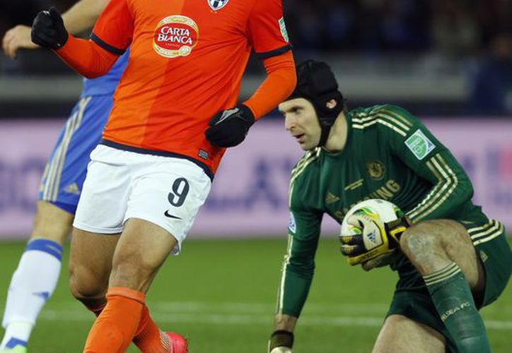 De Nigris vio el juego parejo hasta que cayeron los dos tantos del Chelsea. (Foto: Agencias)