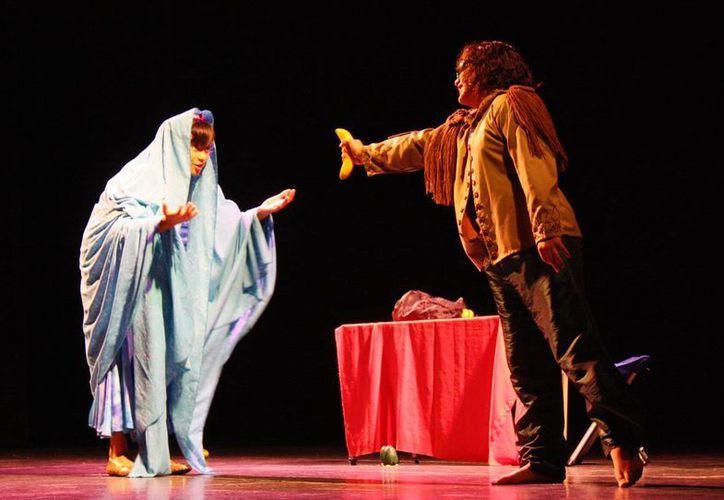 Imagen de uno de los proyectos teatrales realizado por artistas locales con el apoyo del Pecda.  (Milenio Novedades)