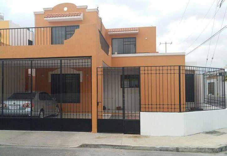 La casa donde vivía en Mérida Flavio Gómez, hermano de Servando 'La Tuta'. (SIPSE)
