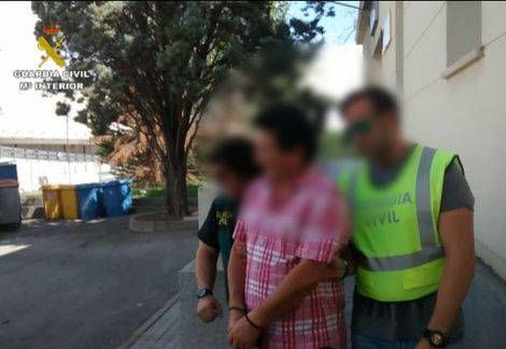 El narco mexicano Jaime Antonio Mandujano Eudave fue detenido el pasado 31 de agosto en el aeropuerto Adolfo Suárez de Madrid. (Guardia Civil Española)