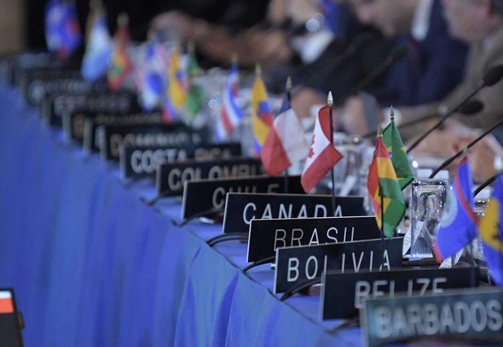 Las votaciones se realizaron en la Asamblea General de la OEA. (vanguardia.com)