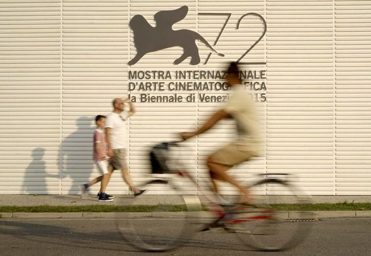 Postal del Festival de Cine de Venecia, que se inaugura este miércoles. (Foto: AP)
