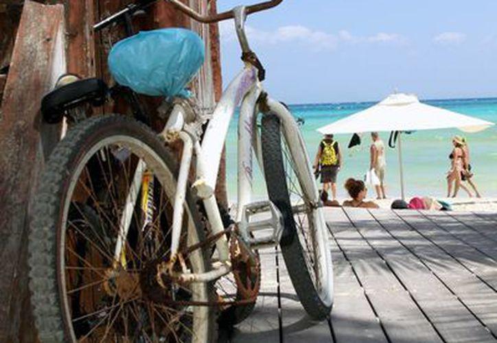 Desde la sala de regidores se pretende implementar una campaña para combatir el robo de bicicletas. (Adrián Barreto/SIPSE)