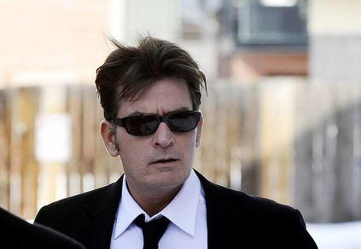 "Charlie Sheen,  es protagonista de la serie ""Anger management"". (Archivo/Efe)"