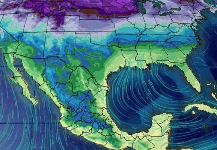 Los vientos oscilarán en los 17 kilómetros por hora. (Conagua)