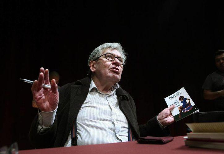 En la década de los años 60 del siglo pasado aparecieron los primeros libros de José Emilio Pacheco, quien falleció este domingo. (EFE)