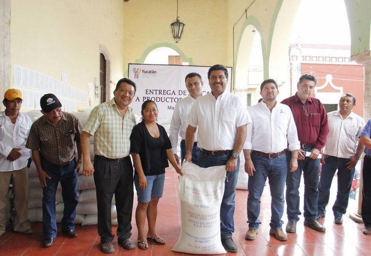 Un total de 70 toneladas de miel yucateca llegarán a Alemania. (Foto cortesía del Gobierno de Yucatán)