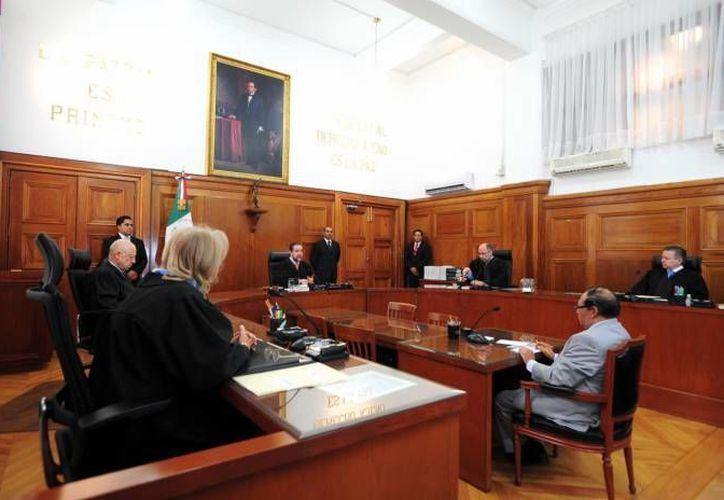 Los ministros de la SCJN analizaron con mucho cuidado las 256 pruebas que aportó el Ministerio Público contra el quejoso. (Archivo/Notimex)