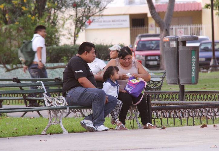 Mérida tiene dos millones 25 mil 906.26 metros cuadrados de áreas verdes en parques. (SIPSE)
