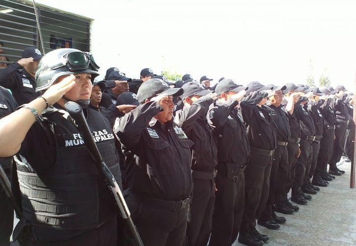 Progreso seguirá recibiendo a interesados en ser policías municipales hasta reclutar 25 nuevos uniformados. (Manuel Pool/SIPSE)