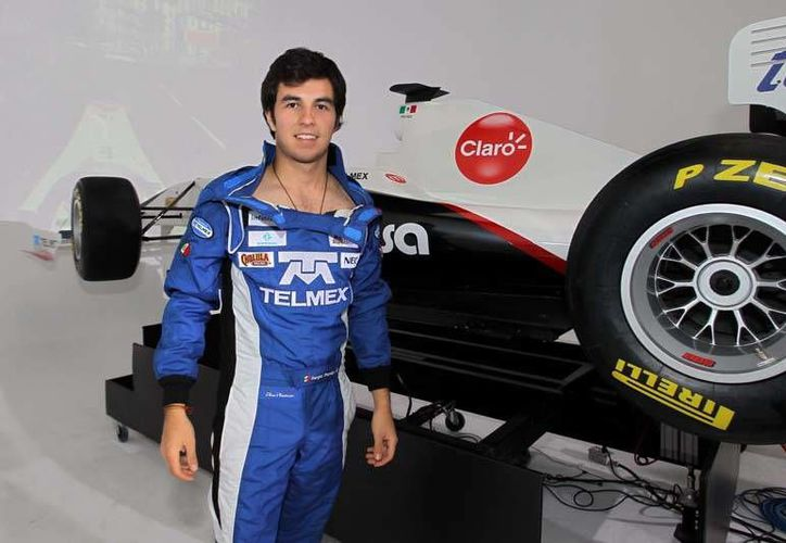 'Checo' Pérez salió de McLaren hace apenas unos días, pero podría correr para Force India en 2014. (record.com.mx)