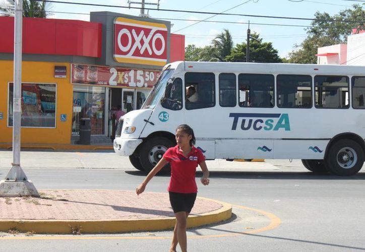 Manuel Tamargo, negó la posibilidad de que se incrementen las tarifas del transporte público. (Carlos Calzado/SIPSE)