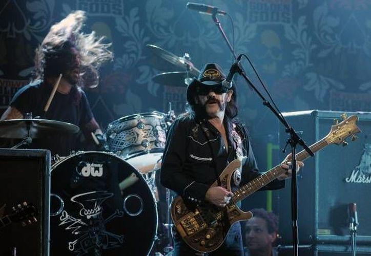 """""""Lemmy"""" Kilmister falleció este lunes a los 70 años tras una breve batalla contra un tipo de cáncer agresivo. (Archivo de AP)"""