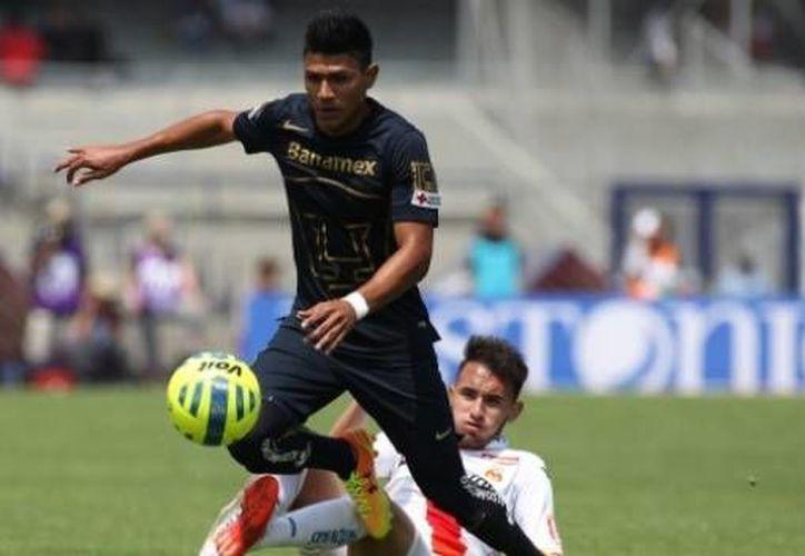 Jesús Daniel Gallardo, de Pumas, fue convocado a la selección mexicana para dos partidos amistosos en sustitución de Ángel Sepúlveda. (futbolpasion.mx)