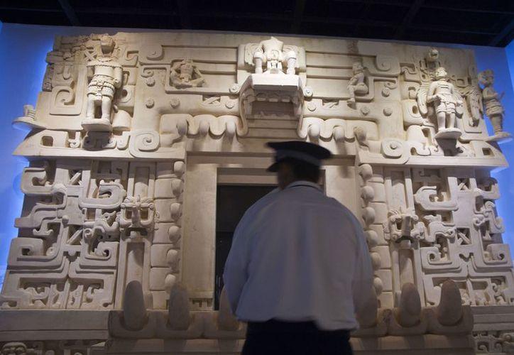 El Gran Museo del Mundo Maya, en Mérida, se construyó mediante una APP. (Notimex)