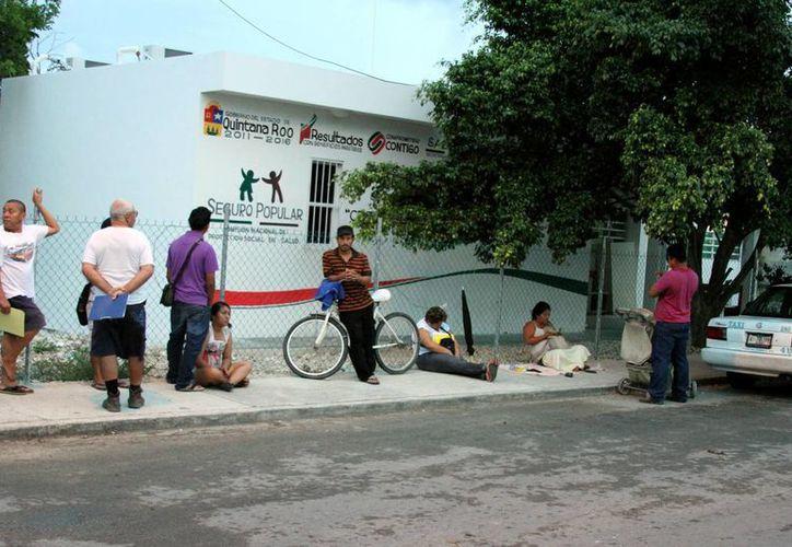 Las clínicas municipales se preparan para atender a los beneficiarios del Seguro Popular.  (Adrián Monroy/SIPSE)