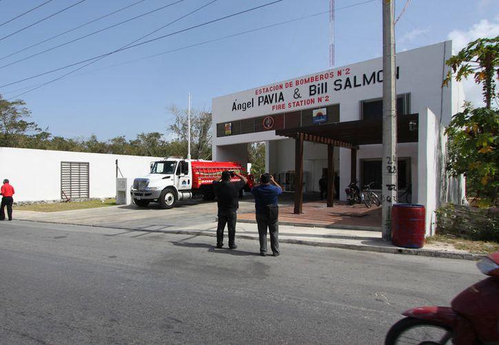 Bomberos informaron que la estación número dos era utilizada para almacenar los restos de animales. (Foto: Gustavo Villegas)